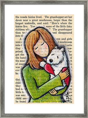 We'll Both Miss You Framed Print by Kim Niles