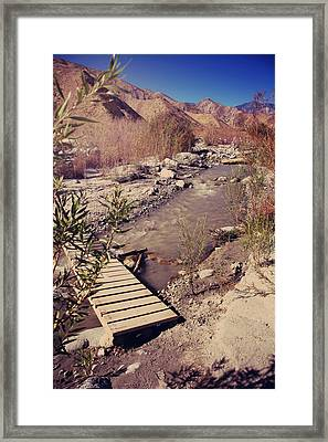 We'll Explore Framed Print by Laurie Search