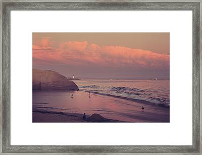We'll Just Sit Here For A While Framed Print by Laurie Search