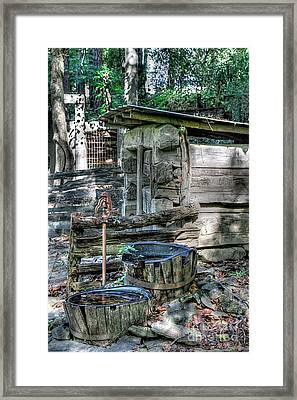 Well Water Framed Print by Robert Pearson