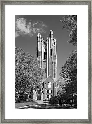 Wellesley College Green Hall Framed Print by University Icons