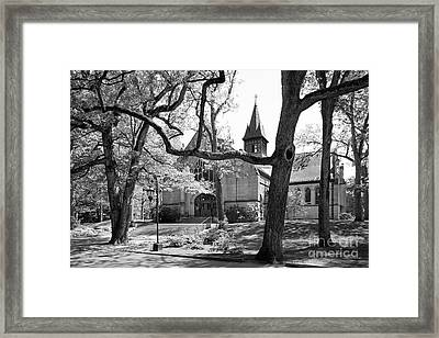 Wellesley College Houghton Chapel Framed Print by University Icons