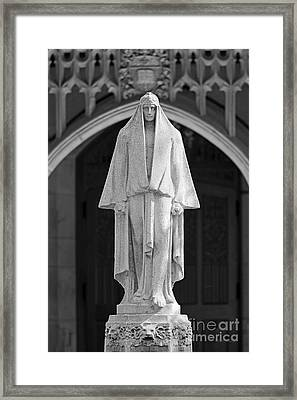 Wellesley College Tower Court  Framed Print by University Icons
