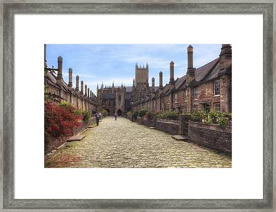 Wells Framed Print by Joana Kruse