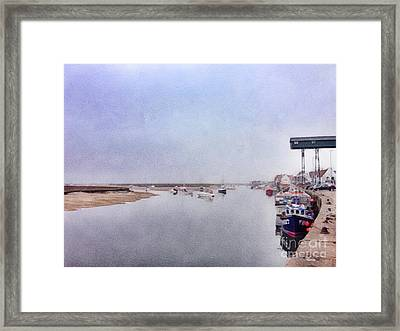 Wells Next The Sea Norfolk Uk Framed Print by John Edwards