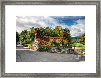 Welsh Cottage Framed Print by Adrian Evans