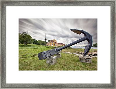 Wentworth Anchor Framed Print by Eric Gendron