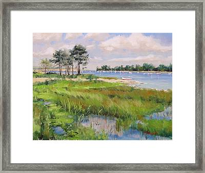 Wentworth By The Sea Framed Print by Laura Lee Zanghetti