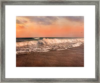 We're Having The Tide Of Our Lives Framed Print by Betsy C Knapp