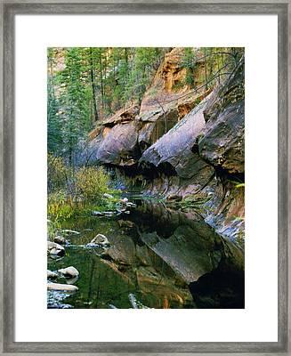 West Branch Oak Creek Framed Print by Joshua House