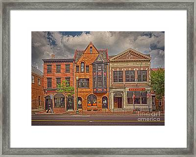 W Chester Artist West Chester Pa 7 Framed Print by Jack Paolini