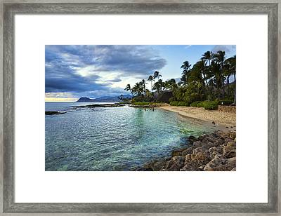 West Oahu Beauty Framed Print by James Crawford