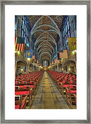 West Point Cadet Chapel Framed Print by Dan McManus