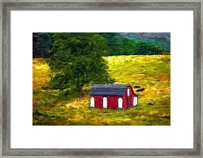 West Virginia Painted Framed Print by Steve Harrington