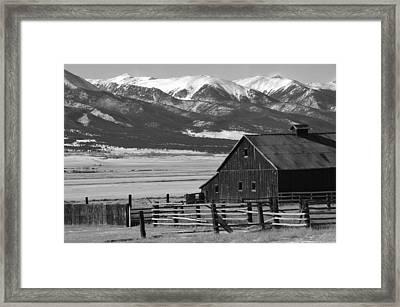 Westcliffe Colorado Framed Print by Jerry Mann