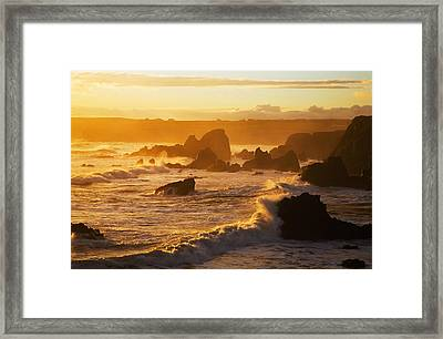 Westerly View, From Bunmahon, The Framed Print by Panoramic Images