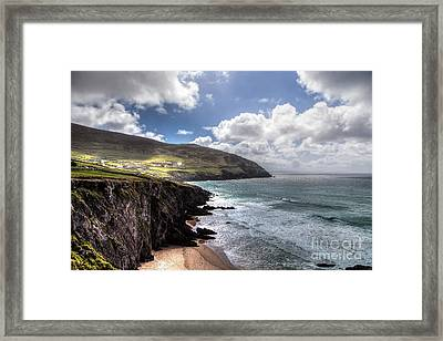 Western Coast Of Ireland Framed Print by Juergen Klust