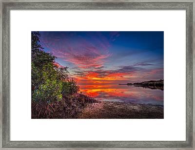 Western Sky Framed Print by Marvin Spates