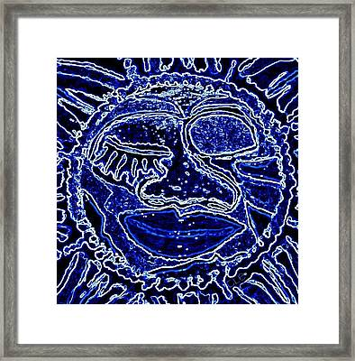 Western Sun Framed Print by Cleaster Cotton