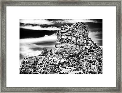 Western View Framed Print by John Rizzuto