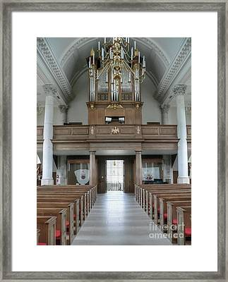 Westminster College Chapel Framed Print by David Bearden