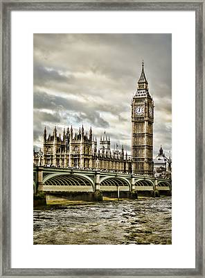 Westminster Framed Print by Heather Applegate