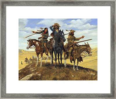 Decisions -  Decisions -  Decisions Framed Print by Don  Langeneckert