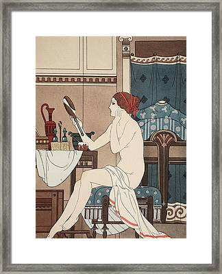 Wet With Cerate Made With Rose Oil Framed Print by Joseph Kuhn-Regnier