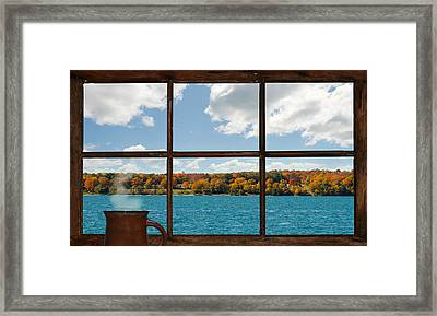 What A View. Framed Print by Kelly Nelson