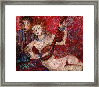 What Are You Looking At-12 Framed Print by Natalie Holland