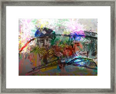 What Day Is This Framed Print by James Thomas