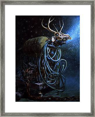 What If... Framed Print by Frank Robert Dixon