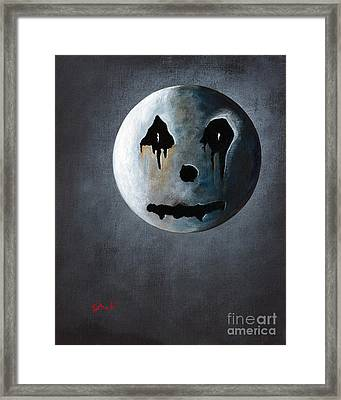 What It's Like Without You - Gothic By Shawna Erback Framed Print by Shawna Erback