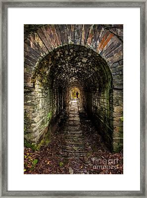 What Lies Ahead Framed Print by Adrian Evans
