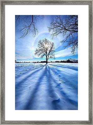 What Lies Beneath Framed Print by Phil Koch