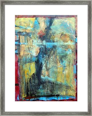 What Lies Beneath Framed Print by Ron Stephens