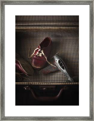 What Little Boys Are Made Of... Framed Print by Amy Weiss