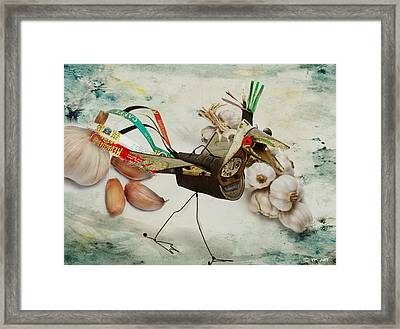 What Nature Delivers - Those Are Not My Eggs  Framed Print by Yvon van der Wijk