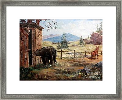 What Now Framed Print by Lee Piper