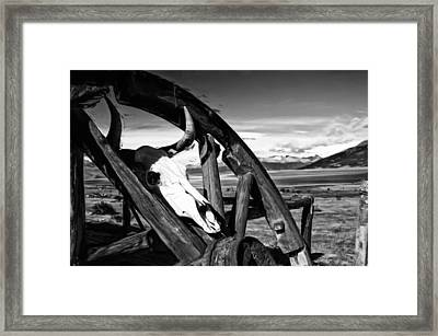 What Once Was Framed Print by Nichon Thorstrom