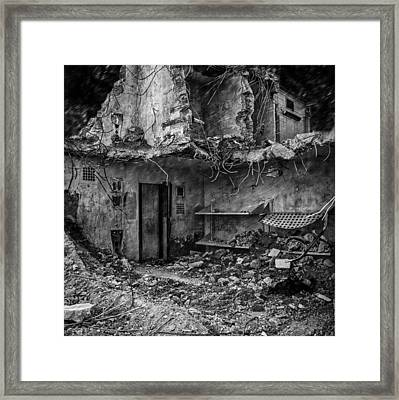 What Was Once A Prison  Framed Print by Bob Orsillo