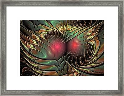 What You See Framed Print by Anastasiya Malakhova