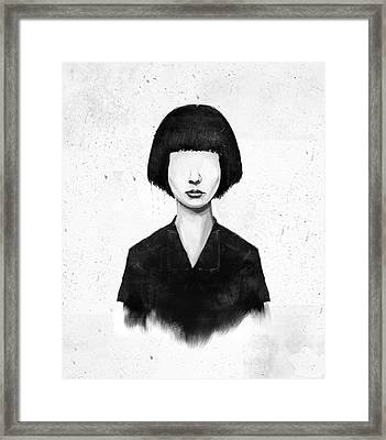 What You See Is What You Get Framed Print by Balazs Solti