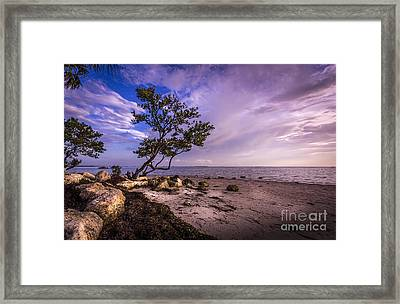 What's Beyond Framed Print by Marvin Spates