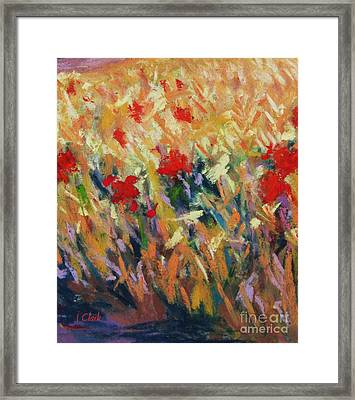 Wheatfield Framed Print by John Clark