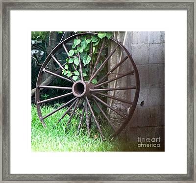 Wheel C Framed Print by D C