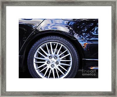 Wheel Framed Print by Sarah Loft