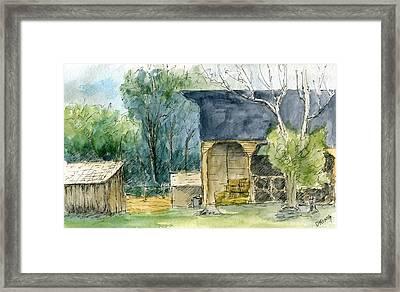 Wheeler Farm Framed Print by David King