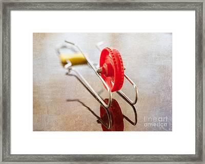 Wheelo Framed Print by Kay Pickens
