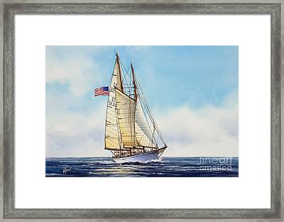 When And If Framed Print by James Williamson